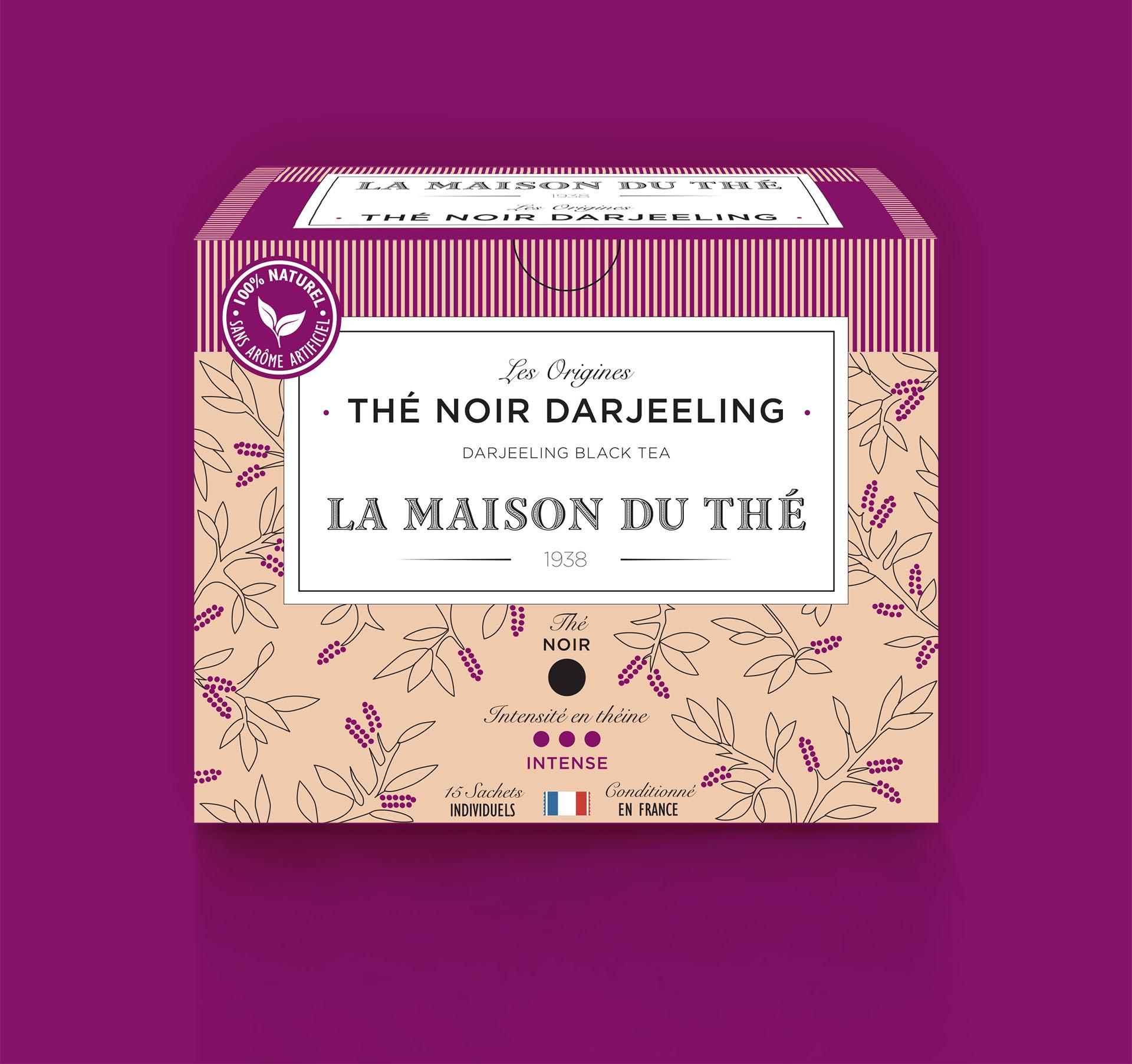 Thé noir Darjeeling, les Origines