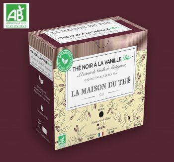 Thé noir à l'extrait de Vanille de Madagascar