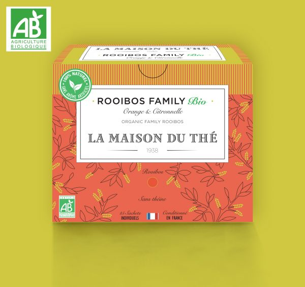 Rooibos Family Bio Orange et Citronelle