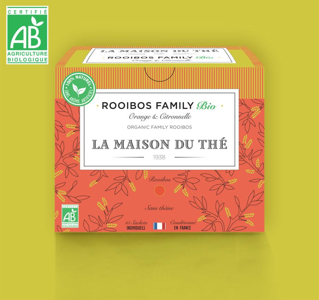 Rooibos Family Bio Orange et Citronelle