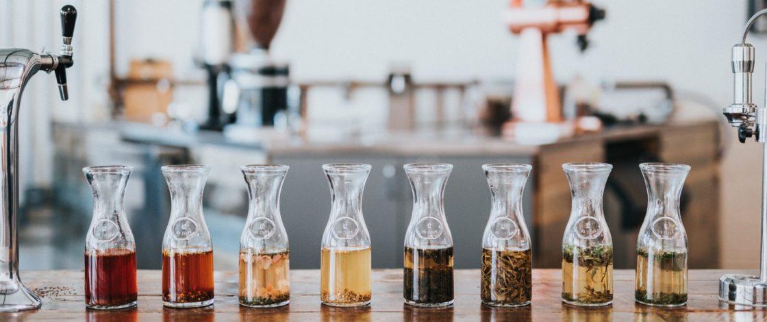 Les thés, infusions et rooibos bio